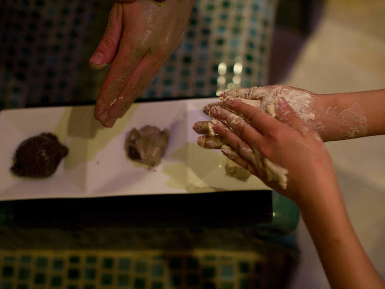 Rhassoul – a steam bath-based oriental care ceremony