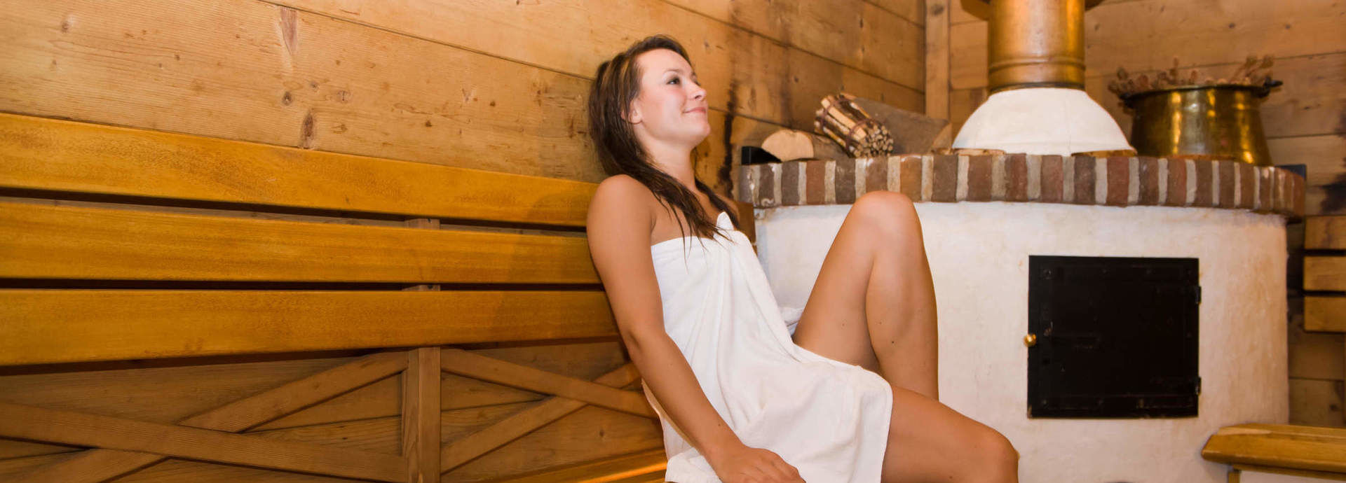 Stubensauna im Romantischer Winkel SPA & Wellness Resort